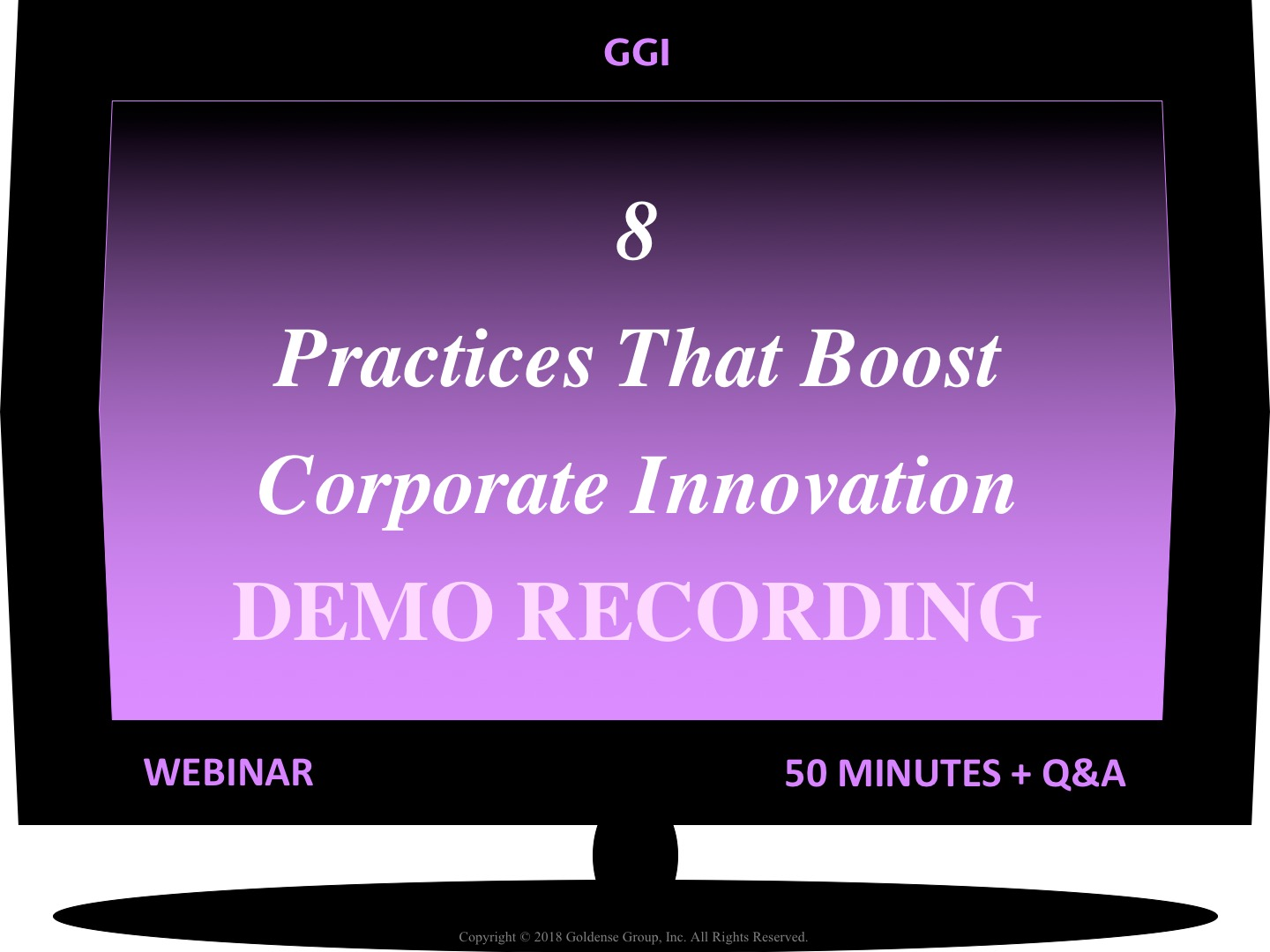 Corporate Innovation Webinar