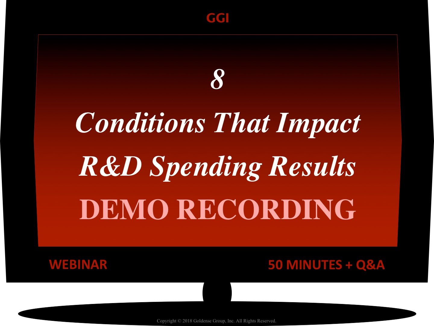 8 Conditions That Impact R&D Spending Results