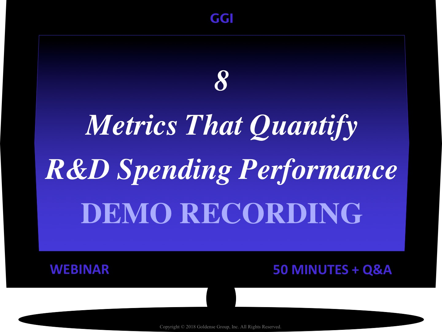 8 Metrics That Quantify R&D Spending Performance Webinar