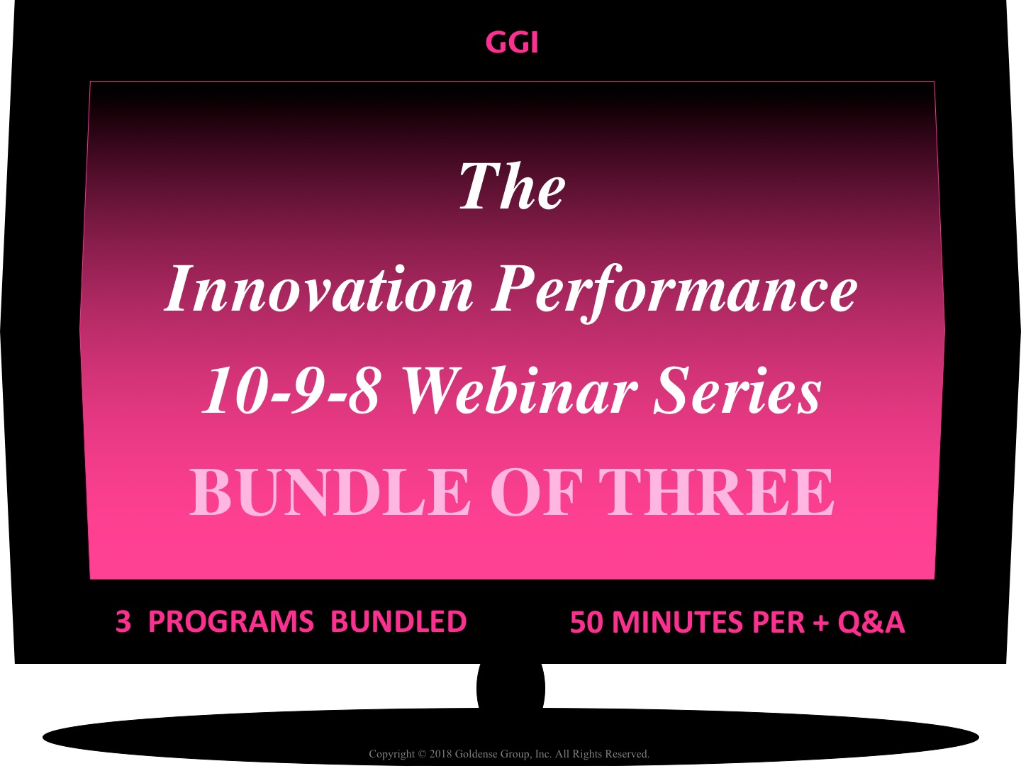 Innovation Perforance Webinar 10-9-8 Series