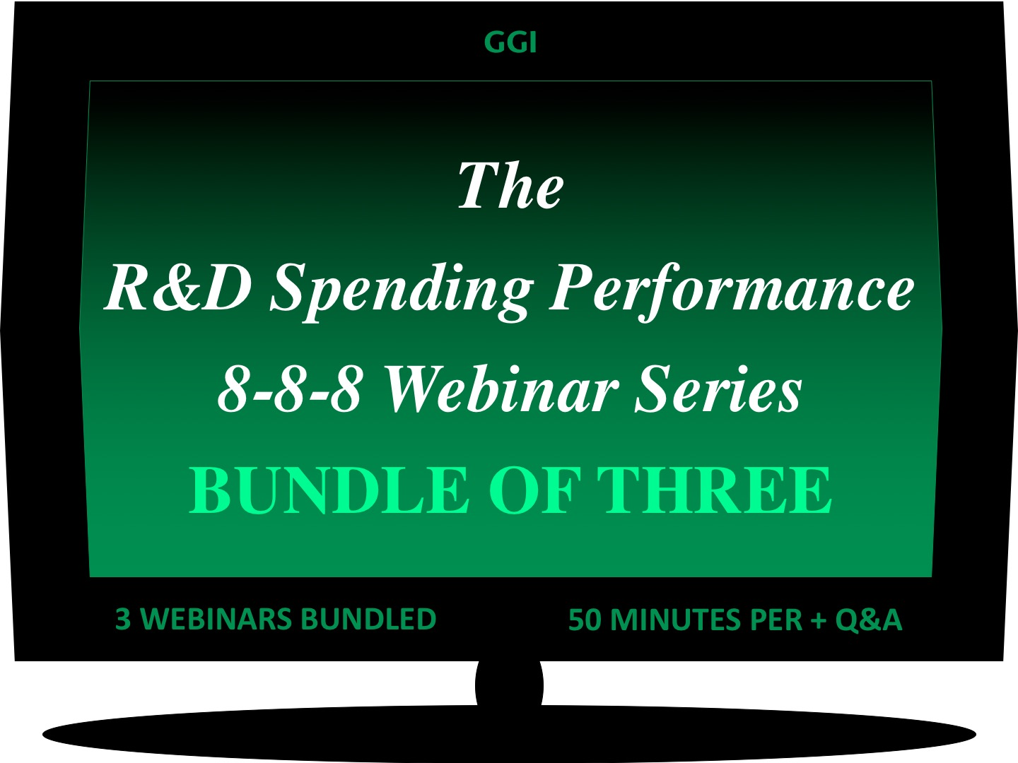 The R&D Spending Performance 8-8-8 Webinar Series